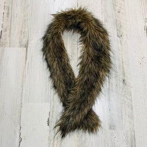 Vintage Faux Fur Collar Scarf